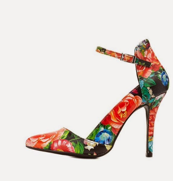 Budget Floral Heels