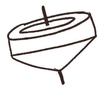 コマのイラスト 線画