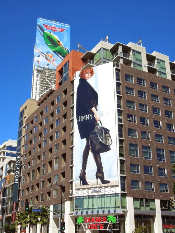 Giant Nicole Kidman Jimmy Choo FW 2013 billboard