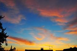 Der retuschierte Himmel...