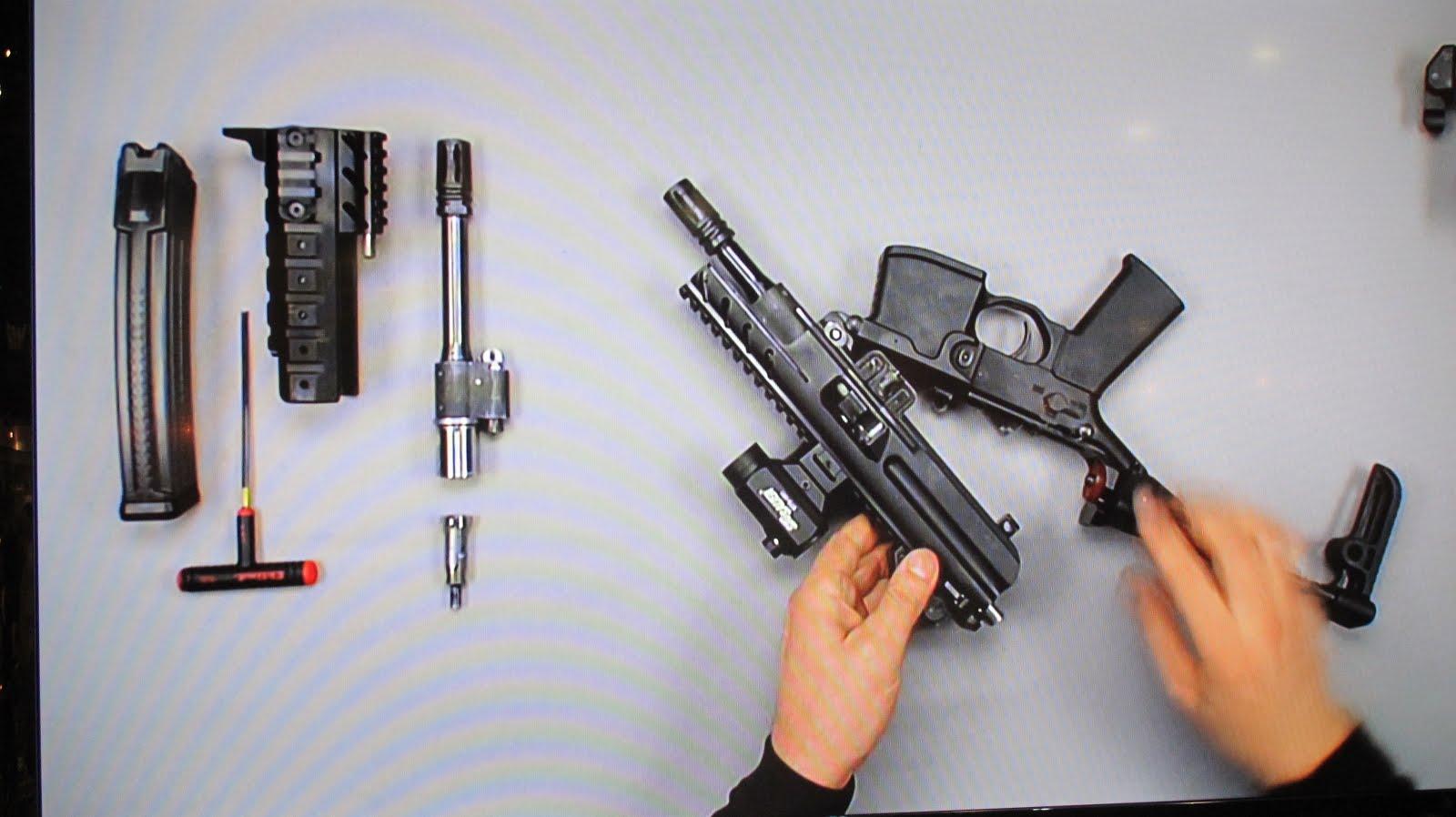 New Guns Designs New Submachine Gun Design
