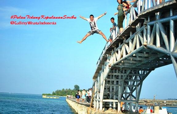Jembatan Cinta Pulau Tidung | Tempat Wisata Kepulauan Seribu