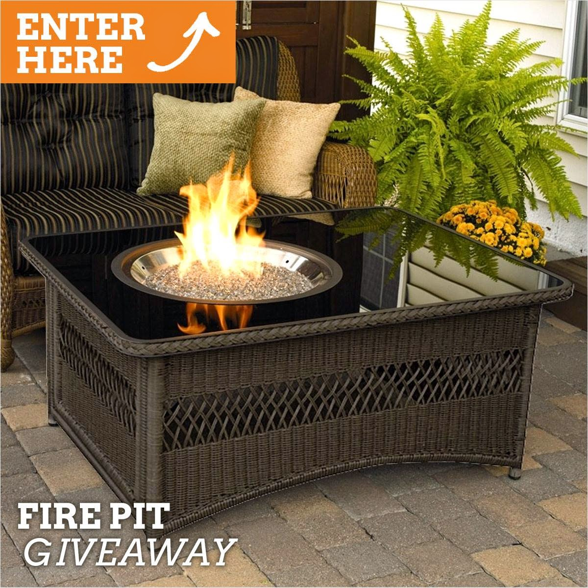 Win a Fire Pit from Wayfair. Ends 7/21