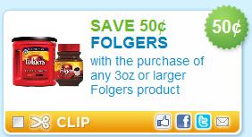 $1.50 off Folgers