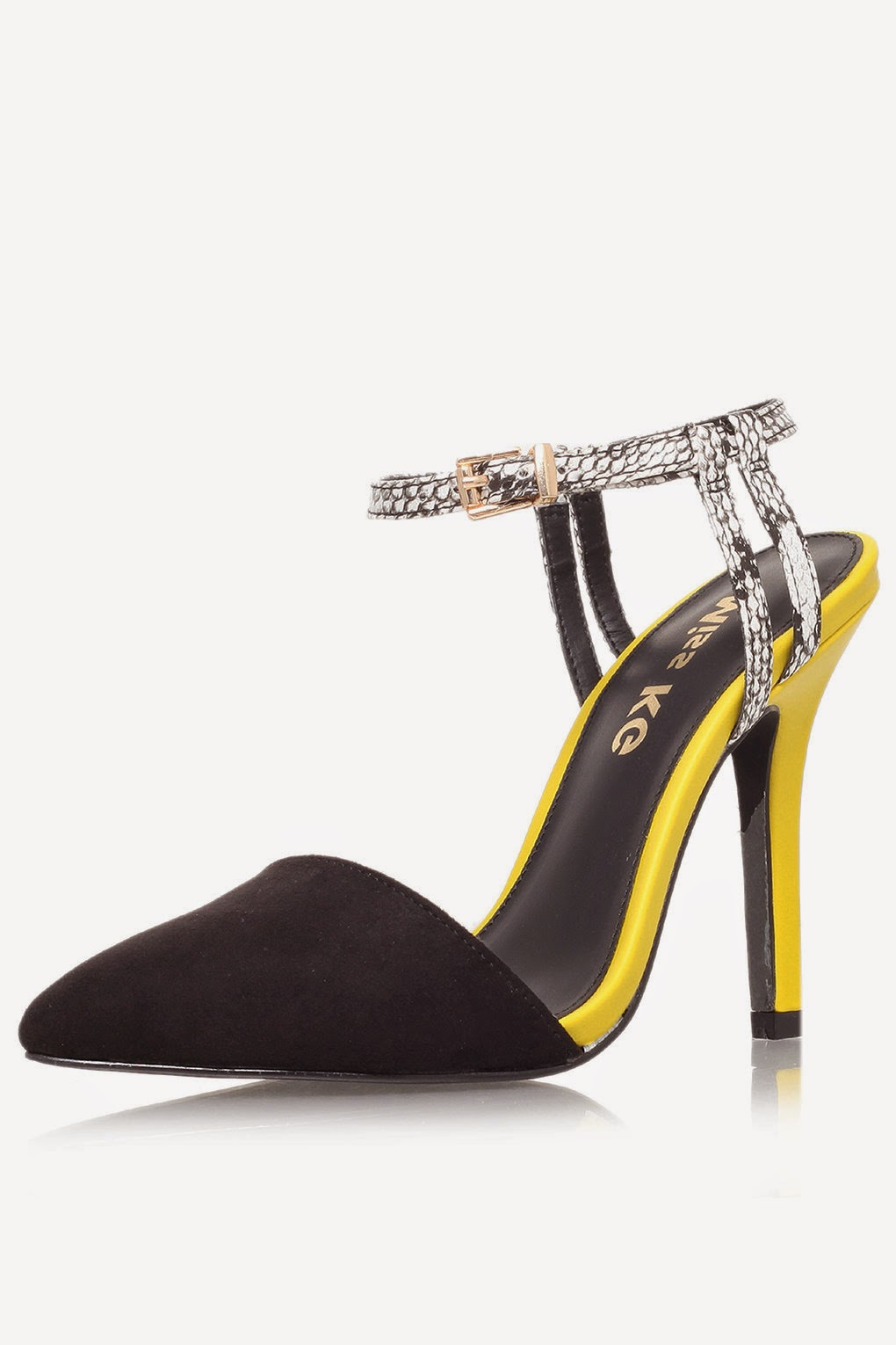 miss kg yellow heels