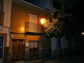 Luz en la noche.