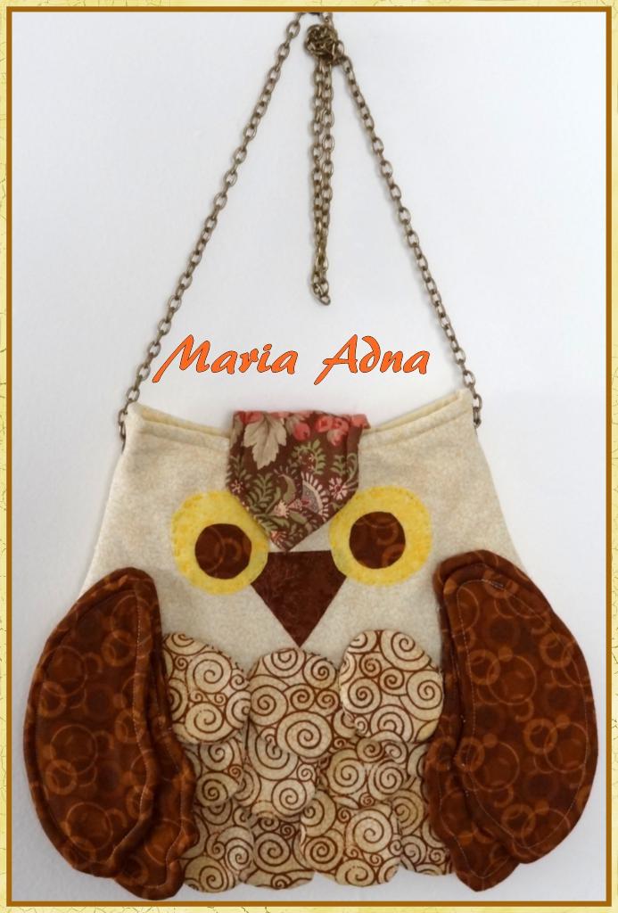 Bolsa De Tecido Da Coruja : Maria adna ateli? cursos aulas e vendas de bolsas