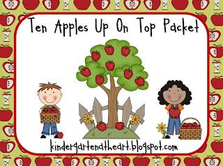 Ten Apples Up On Top And Freebie on Best Dr Seuss Images On Pinterest Preschool Apples Activities