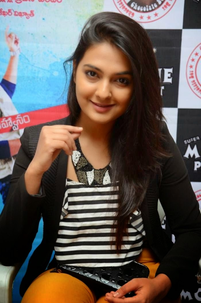 Neha Deshpande at The Bells Movie Audio Successful Meet Event