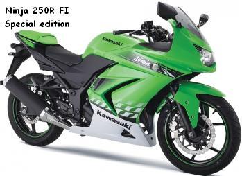 Kawasaki Ninja 250R Fuel Injection Special Edition