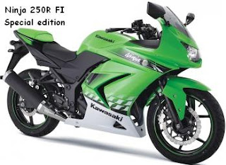 Kawasaki Ninja 250R Fuel Injection Special Edition
