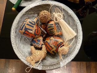 Decoracion de Navidad con Piedras