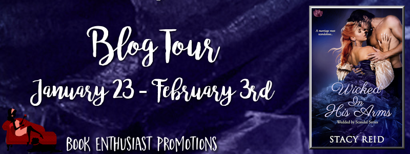 Wicked In His Arms Blog Tour