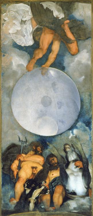 caravage jupiter neptune junon painting