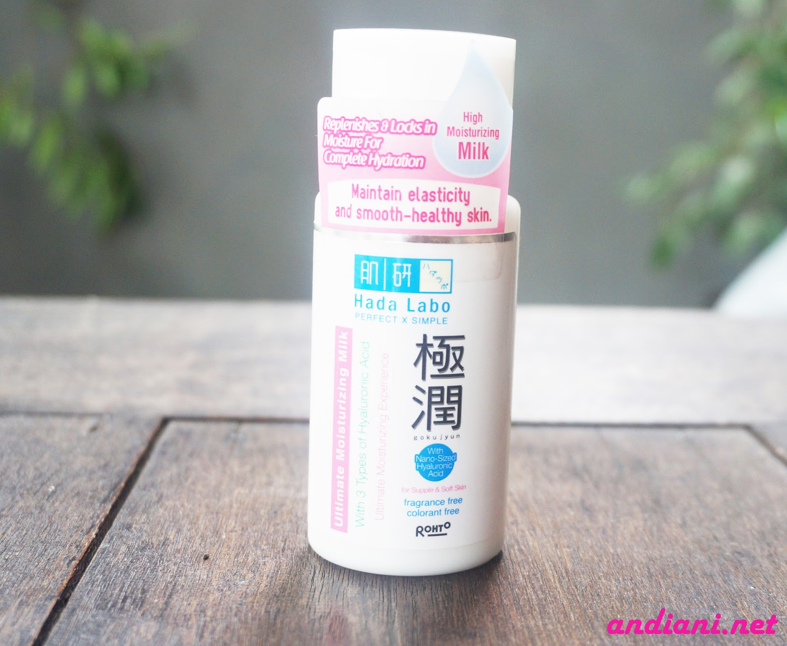 My Skincare Hadalabo Untuk Kulit Berminyak Andianis Beauty Hada Labo Gokujyun Starter Pack Pelembab Ultimate Moisturizing Milk