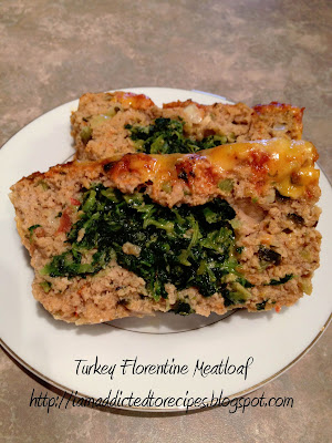 Turkey Florentine Meatloaf | Addicted to Recipes
