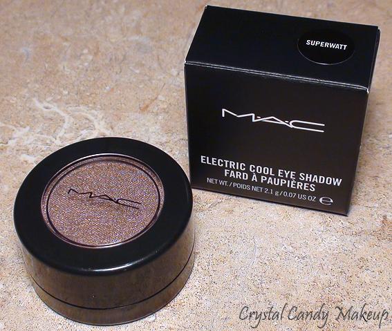 Fard à paupières Superwatt de MAC (Collection Electrocool)