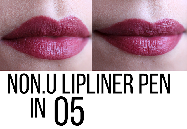 NON.U Elegant Makings She Turns Me On Lipliner Pen 05