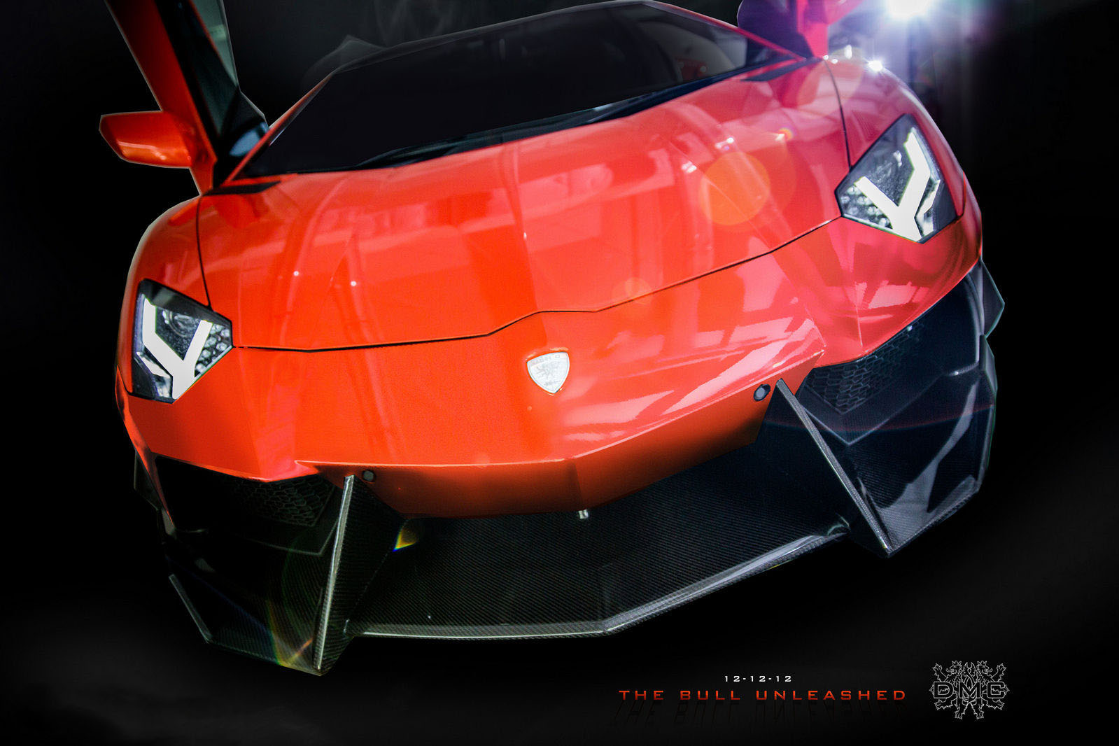a car Lamborghini Aventador LP900 SV Limited Edition by DMC Tuning