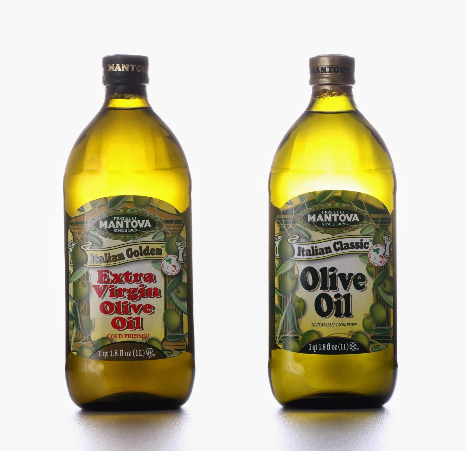 MANTOVA兩款產品「特級橄欖油」(Golden Extra Virgin Olive Oil)和「一般橄欖油」(Classic Olive Oil)深入家庭、廣受歡迎。
