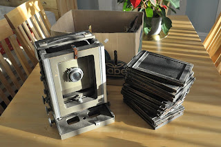kodak, specialist, half plate, 5x7, 7x5, large format, bellows, analog, analogue, darkroom, silver gelatin, photography, wray lustrar