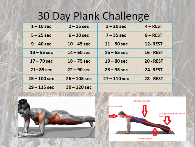 ... 30 day plank challenge click for details 30 day plank challenge