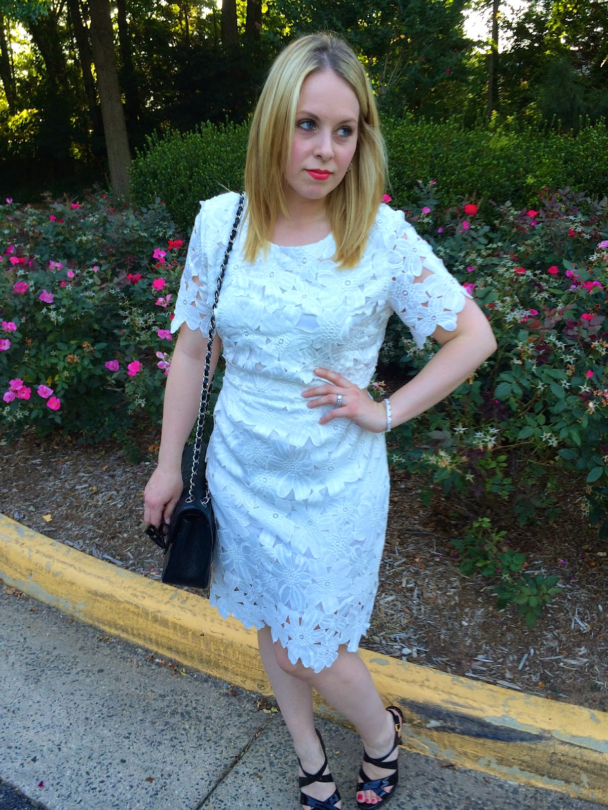 white-summer-dress-lace