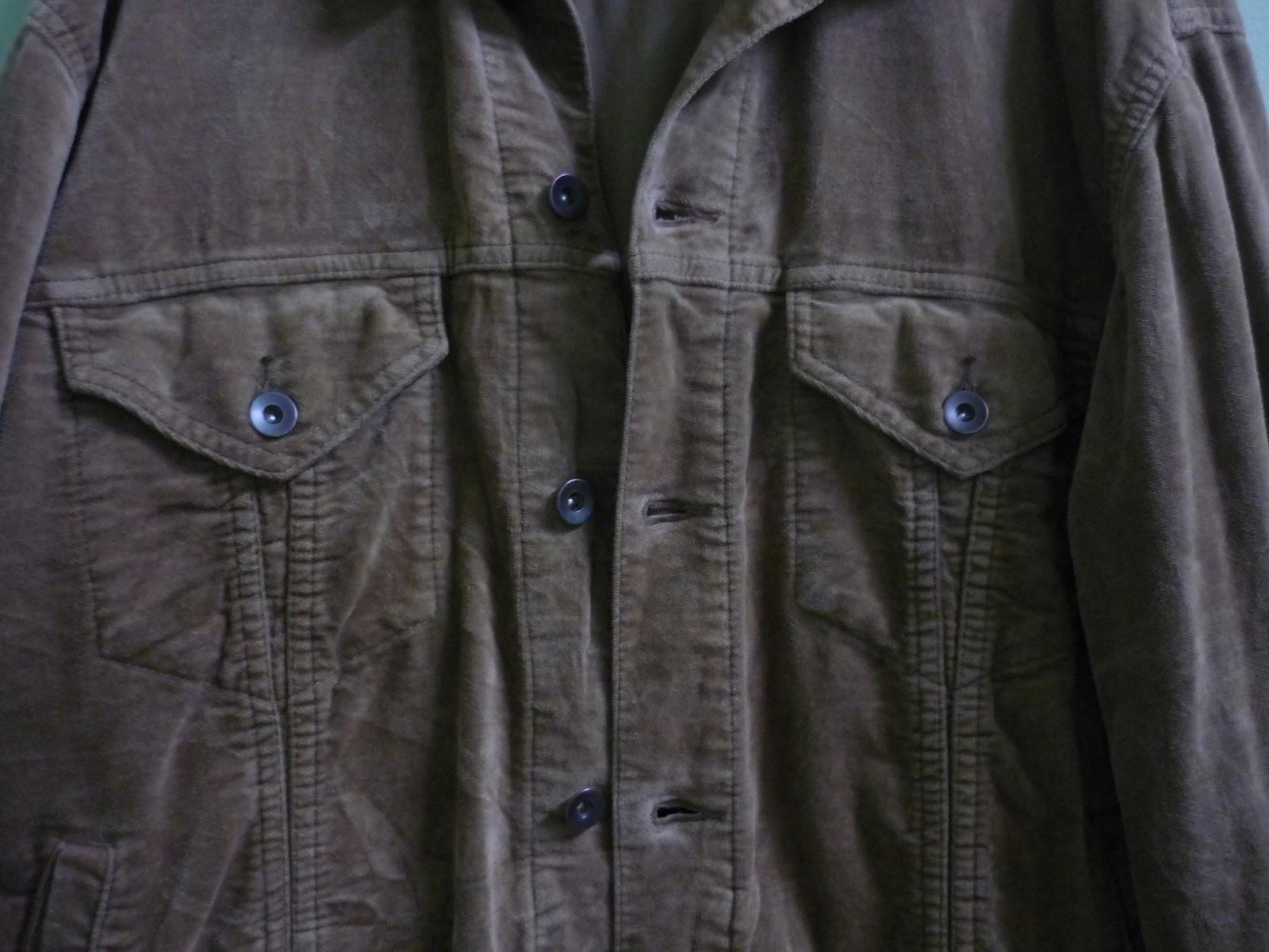 Clayback Bush Thrift Store Jacket Uniqlo Light Brown Corduroy Jaket Redbull Description Curduroy Color M Size