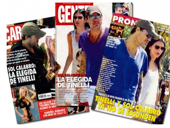 Tinelli tapa de caras gente y pronto noticu ntalo show for Revistas argentinas de farandula
