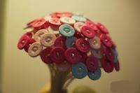 Làm Bó Hoa Handmade Từ Cút Áo
