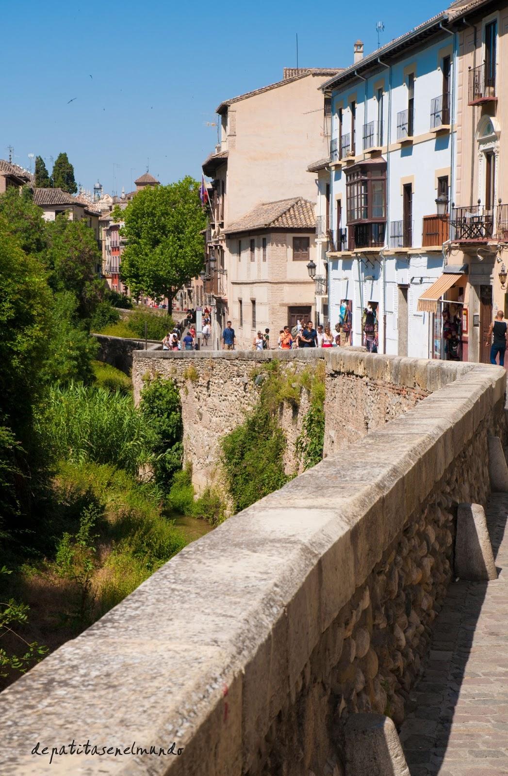 Paseo de Los Tristes de Granada