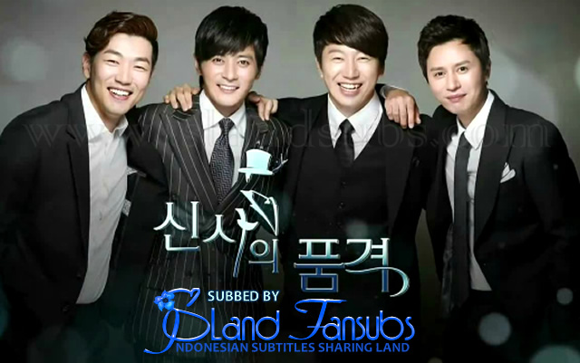 Subtitle Indonesia A Gentleman Dignity