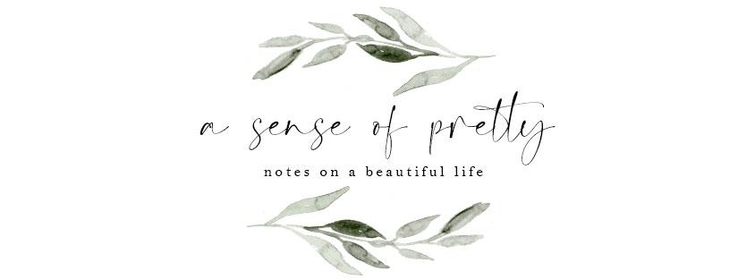 A Sense of Pretty