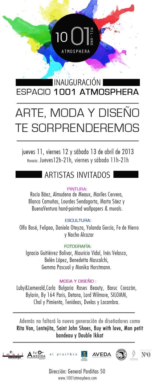 Se inaugura 1001 Atmosphera con LubyLemerald, Carla Roses Beauty, Olfo Bose, Felipao….