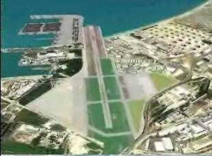 נמל התעופה של חיפה משולב בנמל המפרץ