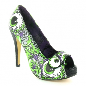 Lime Green High Heel Shoes | Fashionate Trends