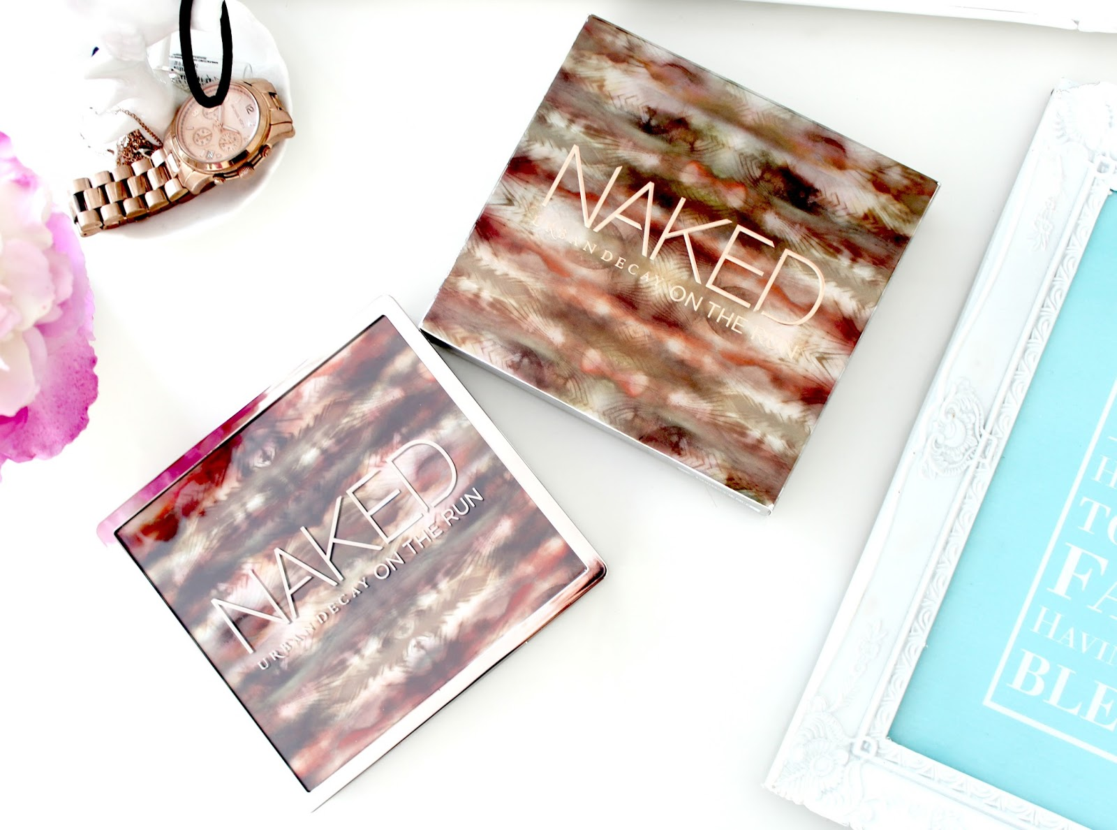 Urban Decay NAKED On The Run Palette Review, New Urban Decay Palette, Urban Decay On The Run Palette Review