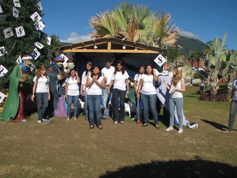 Presentación de Villancicos en Lenguas de Señas año 2011