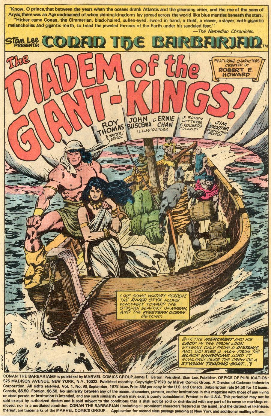 Conan the Barbarian (1970) Issue #90 #102 - English 2