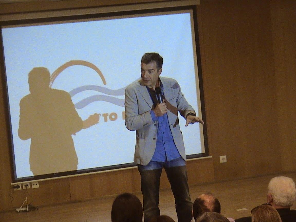 Σταύρος Θεοδωράκης: Σημασία έχει πόσους βουλευτές θα έχει το Ποτάμι
