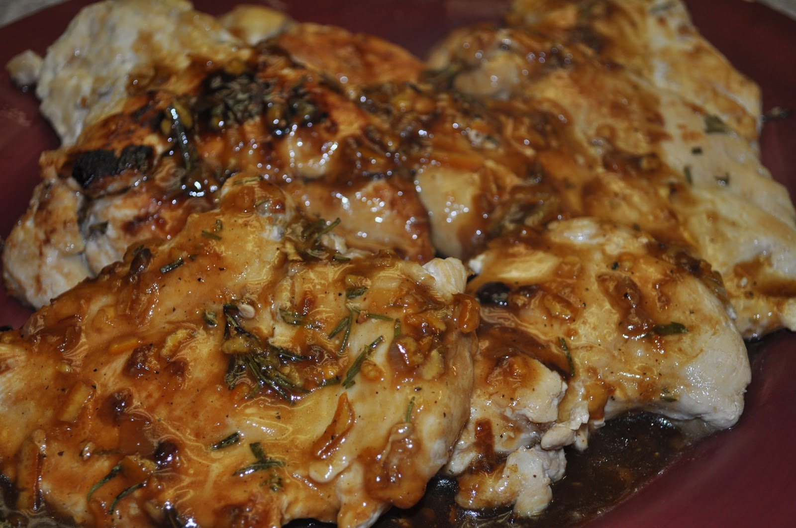 Beth's Favorite Recipes: Orange Balsamic Chicken