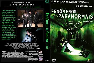 Filme Fenômenos Paranormais DVD Capa