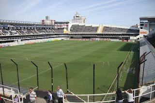Vila Belmiro - estádio do Santos F.C.