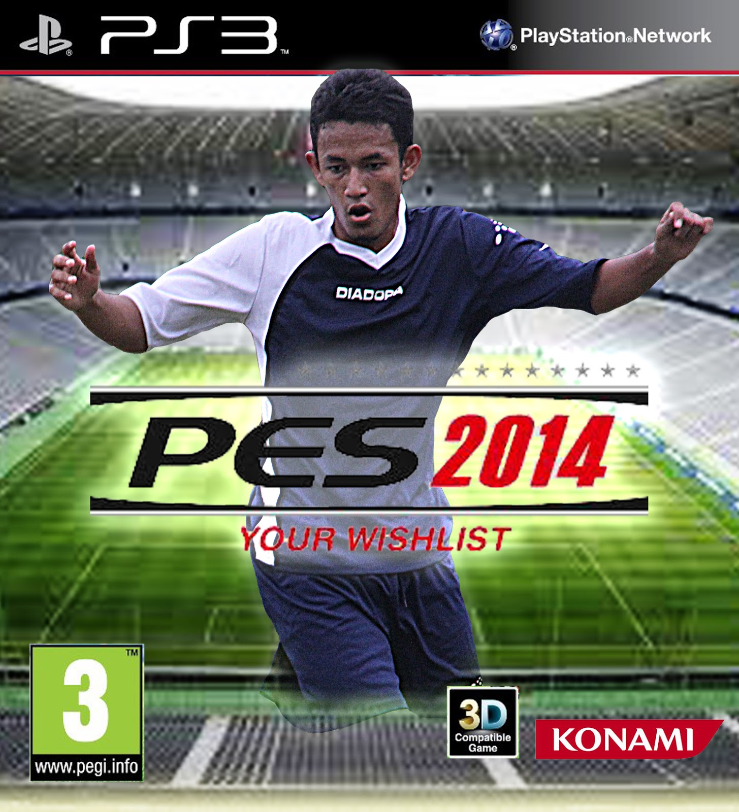 PRO EVOLUTION SOCCER (PES 2014) EditeD
