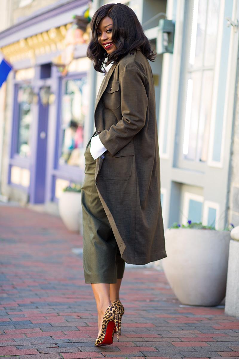 Asos maxi blazer, Christian Louboutin, www.jadore-fashion.com