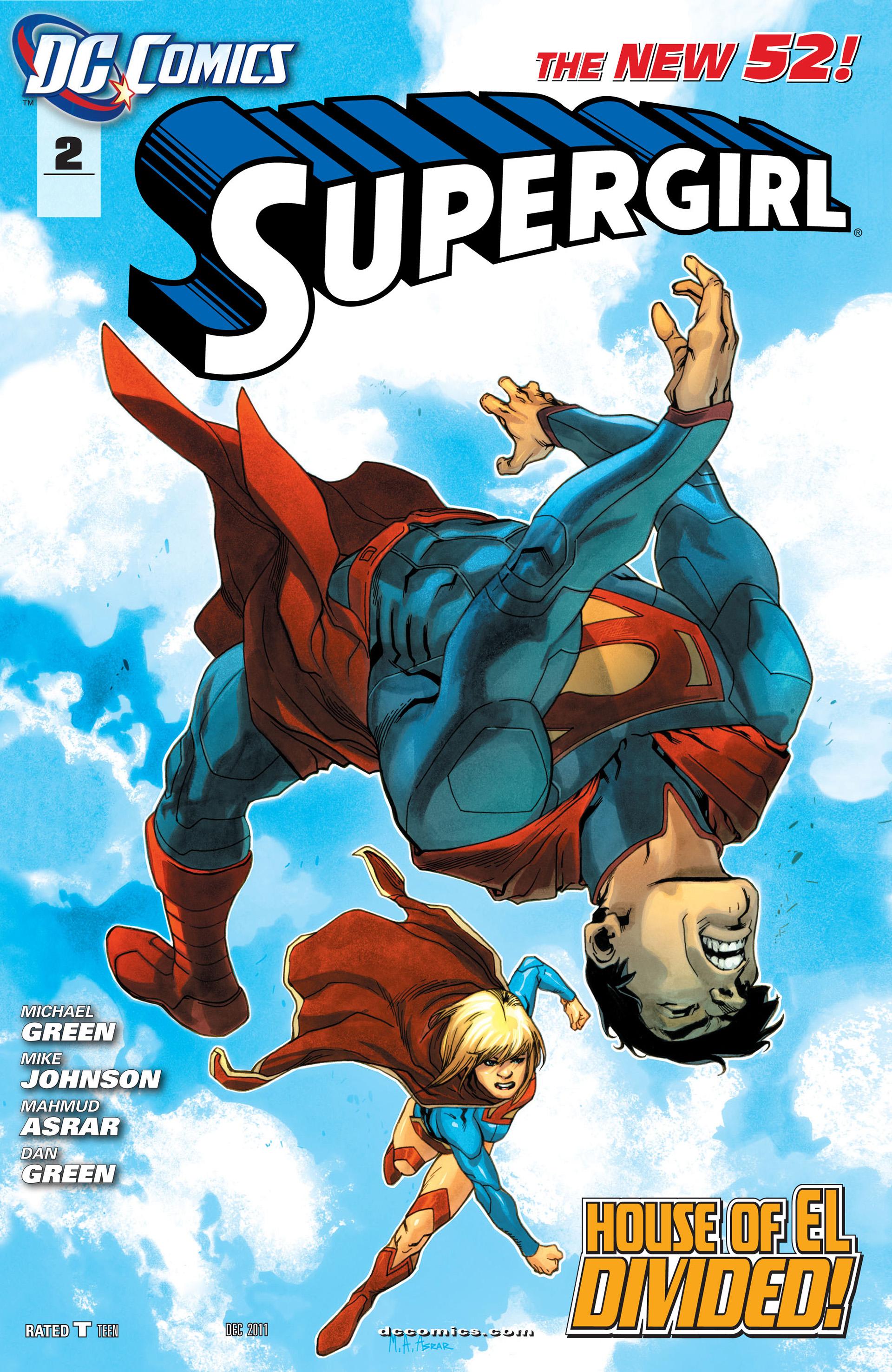 Supergirl (2011) Issue #2 #4 - English 1