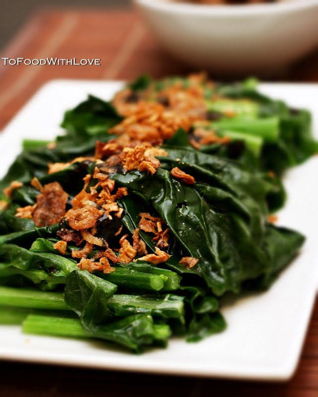 how to make chinese broccoli with oyster sauce