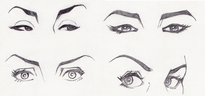 Jam marasigan male and female face features for How to draw a girl looking down