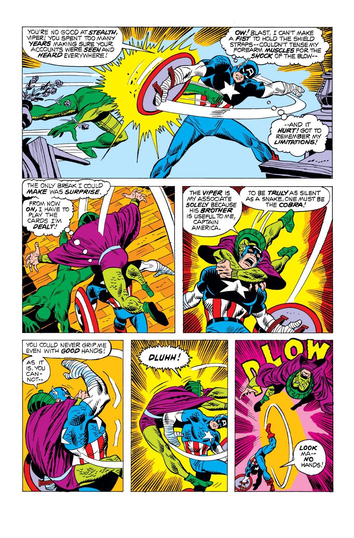 Captain America (1968) Issue #163 #77 - English 17