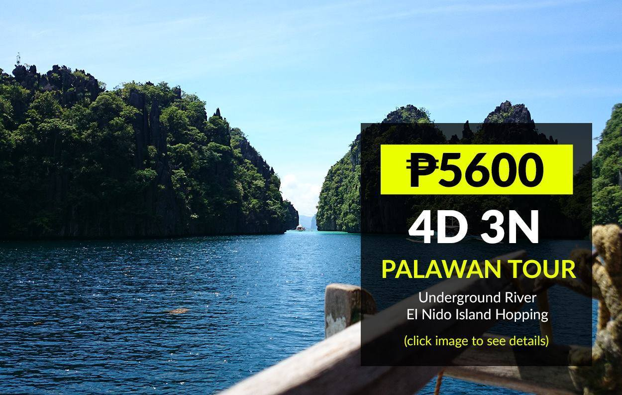 El Nido Package Tour With Airfare From Cebu